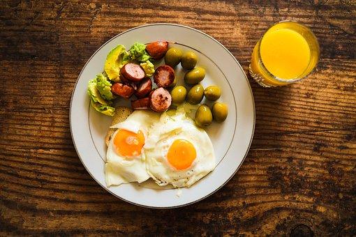 Breakfast, Eggs, Food, Meal, Protein, Healthy, Brunch