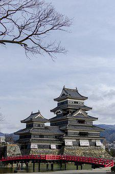 Castle, Matsumoto, Japan, Ancient, Heritage, Asia