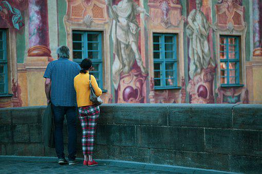 Bamberg, Old Town Hall, Illusion Painting, Sightseeing