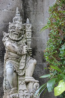Bali, Indonesia, Sculpture, Travel, Temple