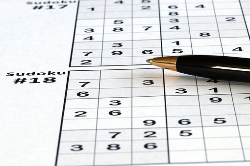 Sudoku, Puzzle, Game, Logic, Pen, Leisure, Mind