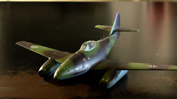 Messerschmitt, Me 262, Model, Aircraft, Air Force, 2