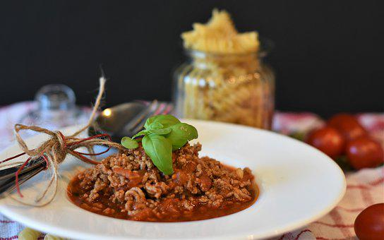 Minced Meat, Minced Meat Sauce, Bolognese, Italian