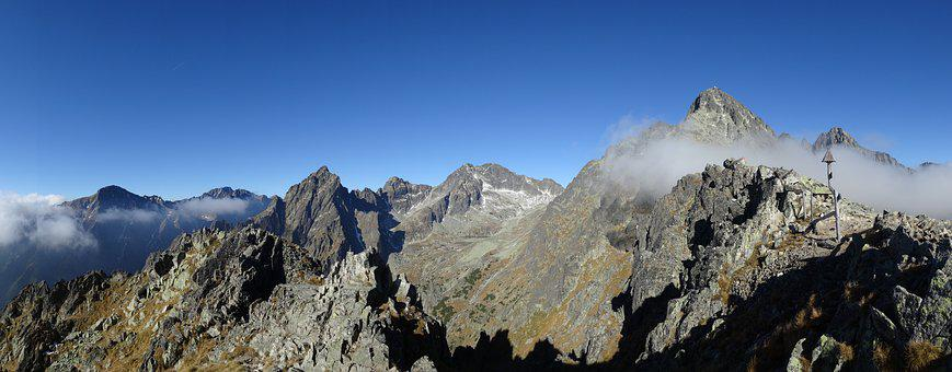 Tatry, Mountains, Landscape, Panorama, Nature, Tops
