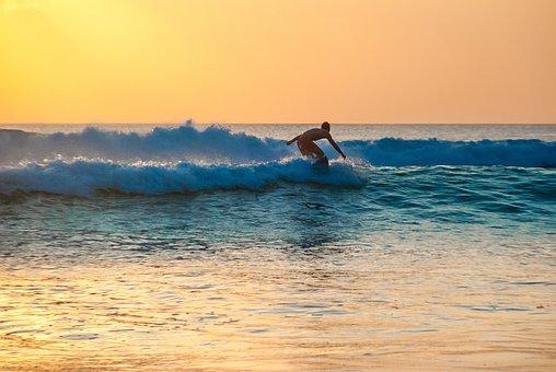 Surfer, Surfboarder, Man, Surfing, Surf, Water, Ocean