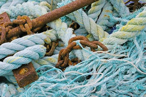 Seafaring, Anchor, Harness Lines, Rope, Holiday