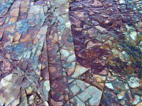 Rock, Design, Color, Purple, Unique, Background