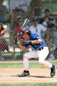 Baseball, Little League, Batter, Sport, Game, Ball, Bat