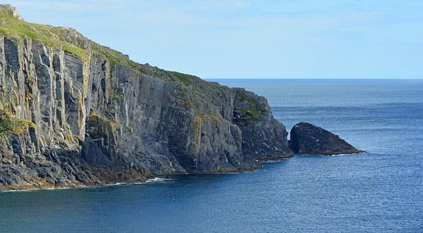Cliff, Coast, Atlantic, Ireland, Baltimore, Beacon