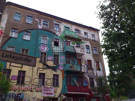 Berlin, Kreuzberg, Friedrichshain, Graffiti, Kiez, Punk