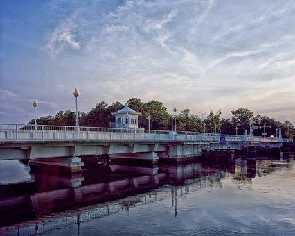 Pocomoke City, Maryland, Bridge, Landmark, Historic