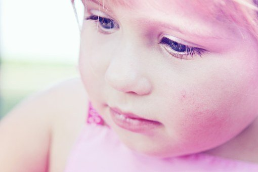 Toddler, Girl, Sweet, Pink, Cheeks, Small, Young