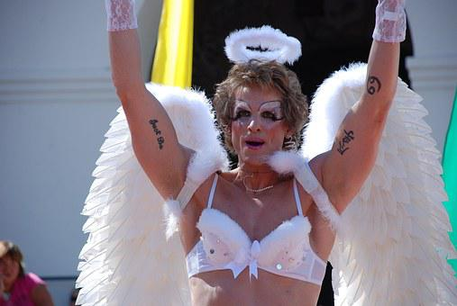 San Luis Obispo, Lgbt, Cross Dresser, Angel, Gay
