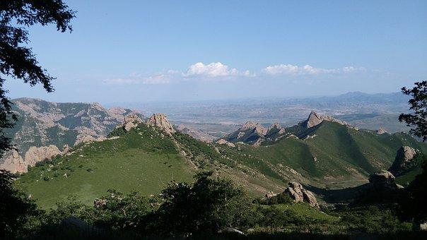 Daqingshan, Inner Mongolia, Mountains, Stretching