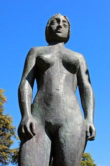 Figure, Bronze, Erotic, Person, Woman, Female, Feminine