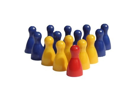 Group, Hierarchy, Figures, Play Stone, Placed