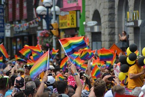 Gay, Gay Pride, Pride Parade, Pride, Rainbow, Flag