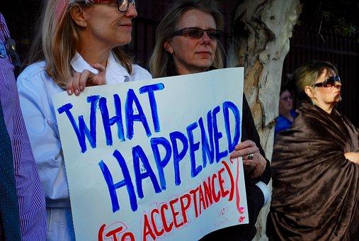Tolerance, Demonstration, Gay, Lesbian, Pride, Sign