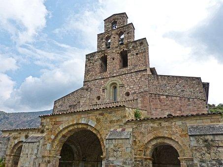 Romanesque, Monastery, Belfry, Gerri Of Salt