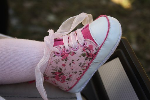 Baby, Girl, Child, Shoe, Foot, Small, Human, Birth