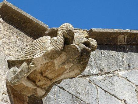 Gargoyle, Sculpture, Gothic Architecture, Medieval