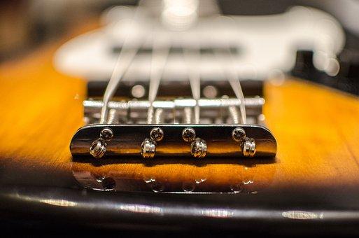 Bass, Jazzbass, E Bass, Stringed Instrument