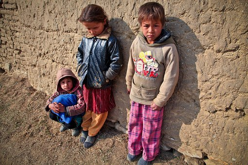 Children, Poor, Mud Village, Kids, Poverty, Young, Girl