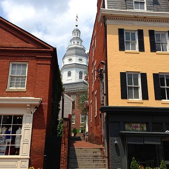 Annapolis, State House, Maryland, Landmark, Historical