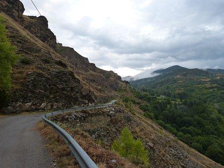 Rural Road, Pyrenee Catalunya, Landscape, High Mountain