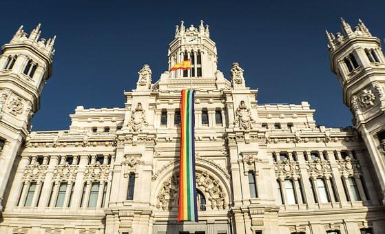 Gay Pride, Gay, Gay Flag, Rainbow Flag, Monument