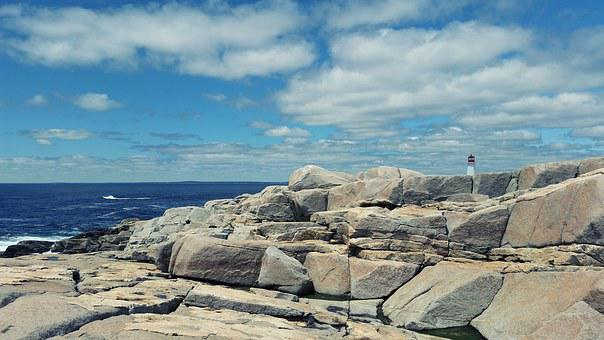 Peggy's Cove, Lighthouse, Nova Scotia, Phare