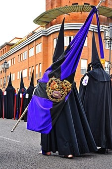 Easter, Seville, Andalusia, Spain, Procession