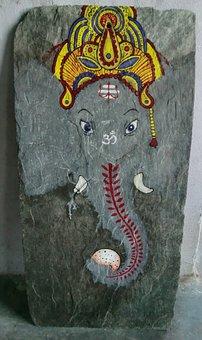 Elephant, Ganesha, India, God, Deity, Prosperity, Image
