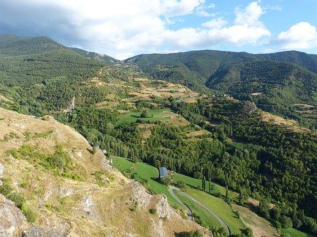 Landscape, Pyrenee Catalunya, Pallars Sobirà, Farrera