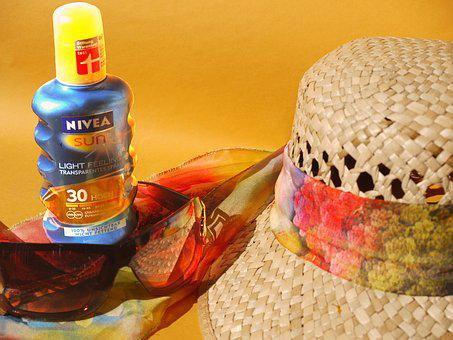 Sun Protection, Holiday, Beach, Sea, Anticipation