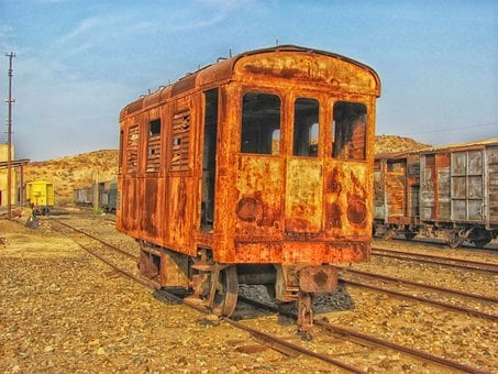 Eritrea, Train, Yard, Station, Abandoned, Railroad