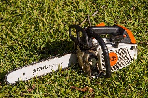 Chainsaw, Saw, Tool, Power, Stihl, Blade, Chain