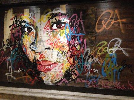 Graffiti, Art, Mural, Graffiti Art, Wall, Wall Art