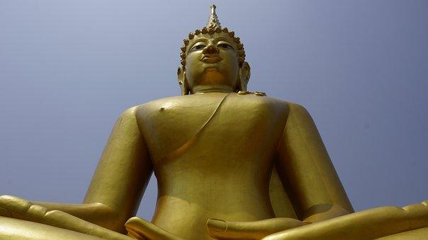 Wat Thep Nimitr Cliffs, Sakon Nakhon, Thailand