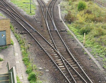 Yield, Branch, Railway, Gleise, Normal Track, Railways