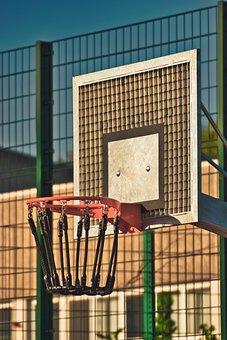 Basketball Hoop, Sport, Basketball, Play, Basket