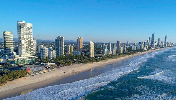 Aerial, Drone, Aerial Image, Aerial Photo, Beach, Sea