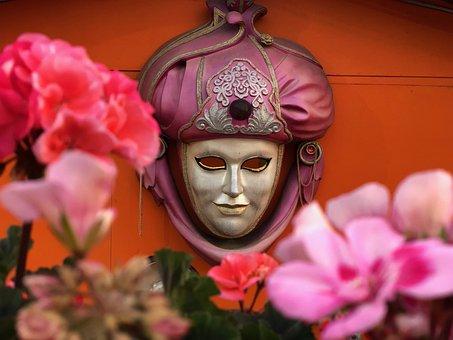 Festival, Mask, Decoration Of, Art, Carnival, Flowers