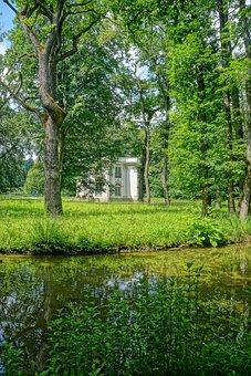 Munich, Castle Park, Castle, Bavaria, Nymphenburg