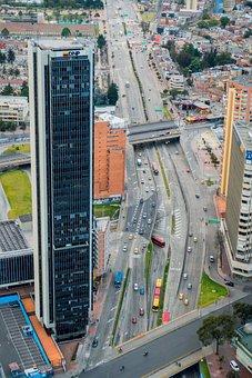 Bogota, Landscape, Bogotá, City, Architecture, Urban