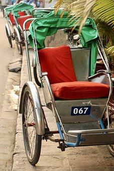 Asia, South-east Asia, Vietnam, Hoian, Hoi An, Cyclo