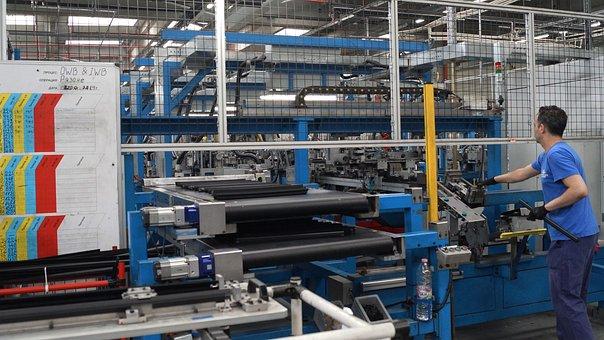 Production, Factory, Cars, Auto Parts, Rubber Gaskets