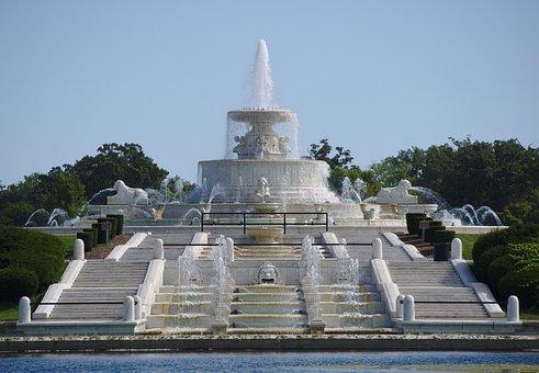 Detroit, Fountain, James Scott Memorial Fountain