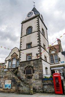 Tyne, Clock Tower, Historical, Landmark
