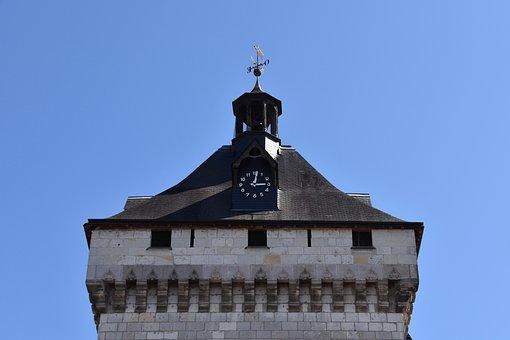 Roof, Roof Portal Porte Picois, Lôches, Indre-et-loire